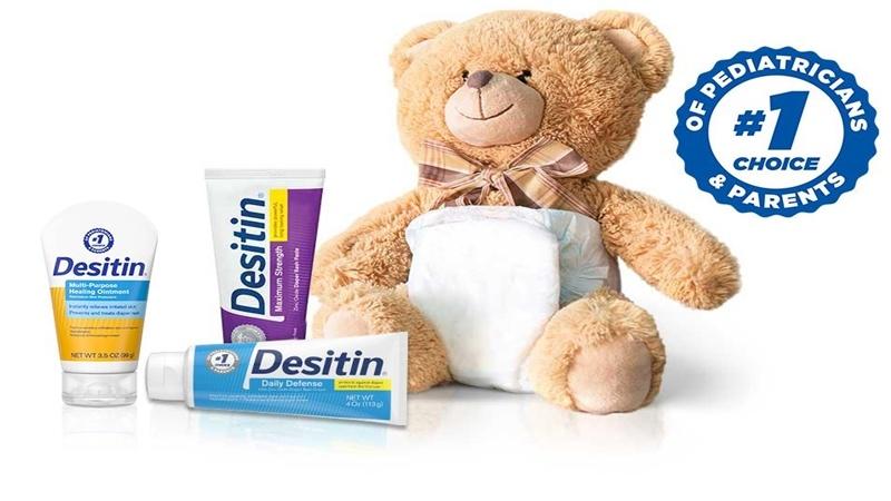 Kem bôi hăm Desitin là sản phẩm kem chống hăm số 1 tại Mỹ