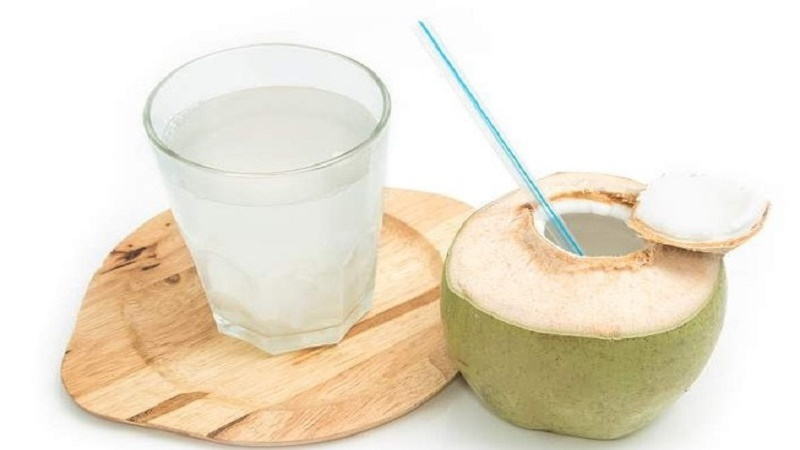 Công dụng của nước dừa