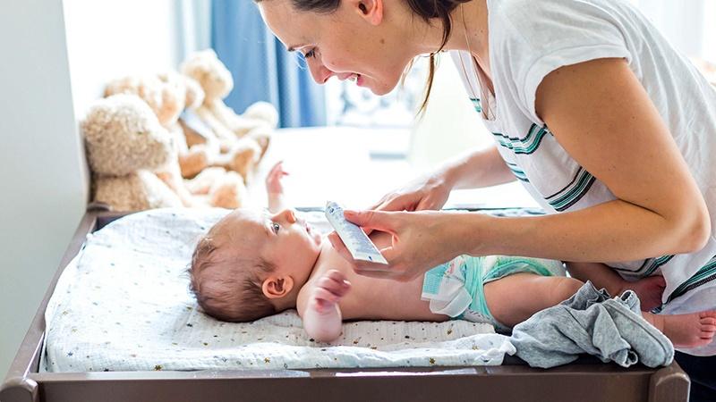 Những lưu ý khi dưỡng da cho trẻ sơ sinh