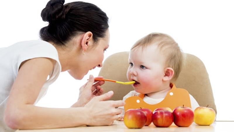 Bổ sung vitamin từ rau củ quả cho bé