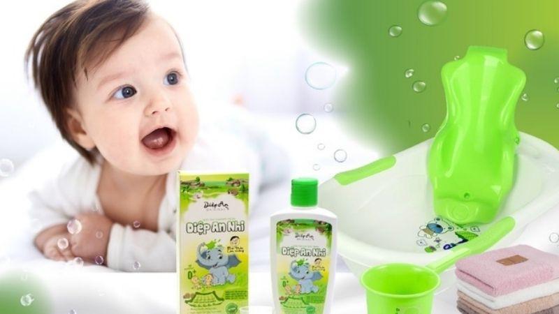 Nước tắm thảo dược Diệp An Nhi dứt điểm chốc lở cho bé