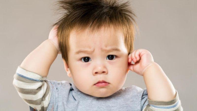Trẻ ngứa ngáy do dị ứng