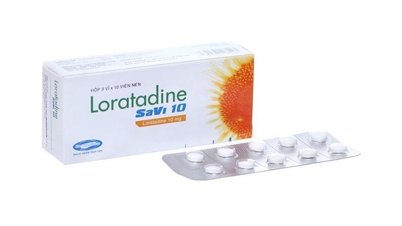 Thuốc trị ngứa Loratadine