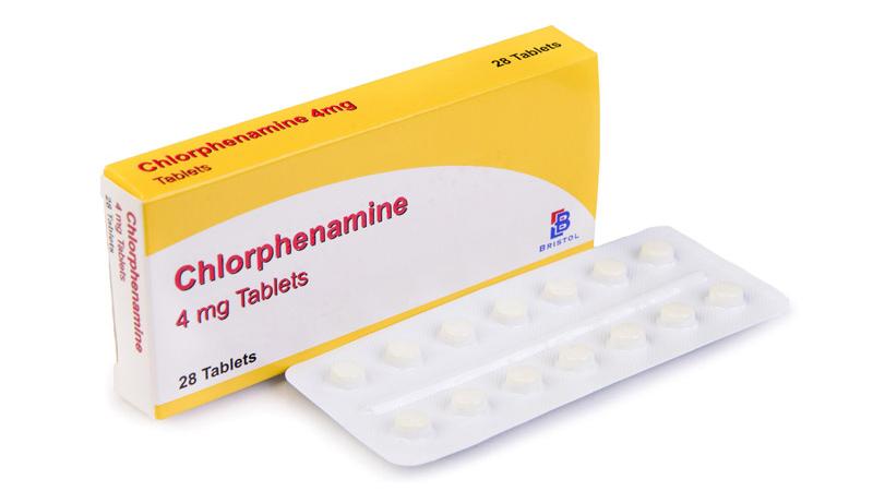 Thuốc trị ngứa Chlorpheniramine (thuốc chỉ mang tính chất tham khảo)