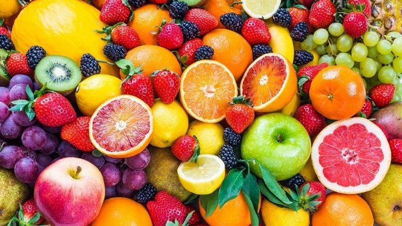 Rau xanh - trái cây