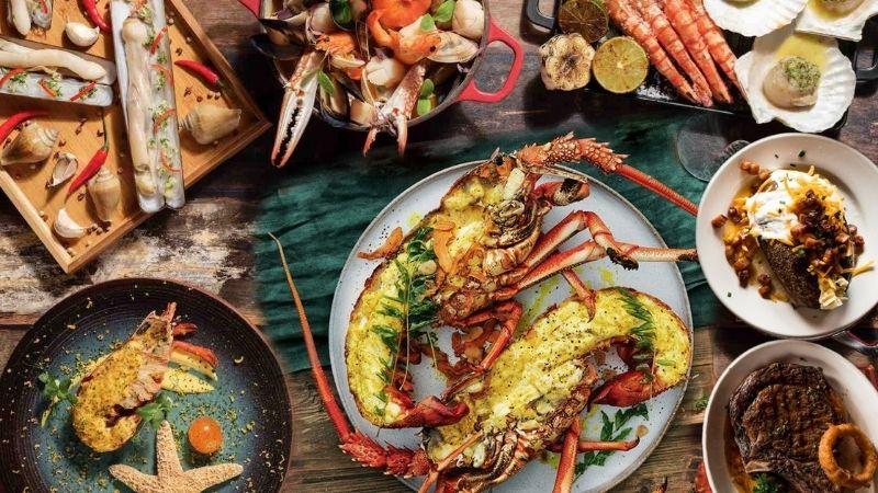 hải sản - nhóm thực phẩm dễ gây dị ứng.